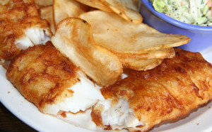 Sea Shell: fish and chips