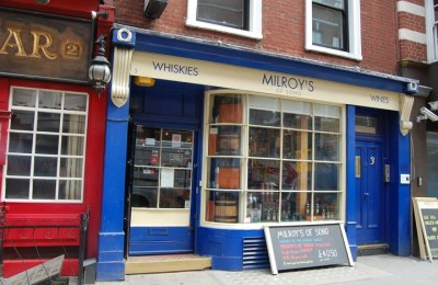 Whiskies Milroy´s