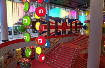 m&m´s world London